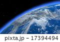 宇宙 雲 星のイラスト 17394494