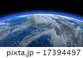 宇宙 雲 星のイラスト 17394497