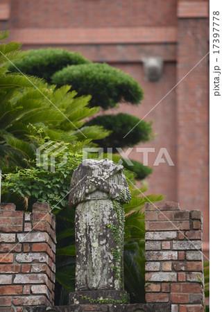 浦上天主堂の被爆したマリア像/長崎県 長崎市 17397778