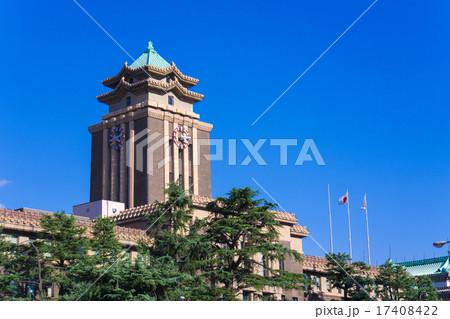 名古屋市役所 時計台 17408422