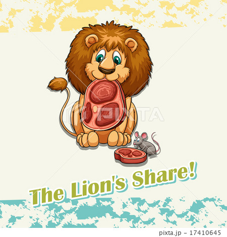 The lion's share idiom 17410645