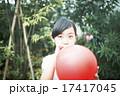 遊ぶ 膨らます 日本人の写真 17417045