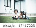 マイホーム 遊ぶ 姉妹の写真 17417223