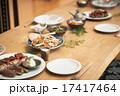 団らん 食事 家族の写真 17417464