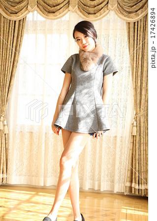 スタイルのいい中国人美女 17426894