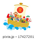 年賀素材宝船4 17427201