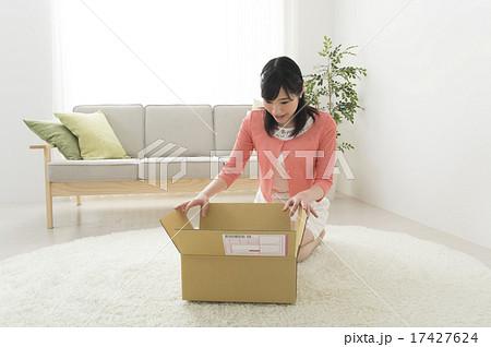 荷物を開ける 17427624