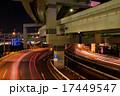横浜夜の高速道路 17449547