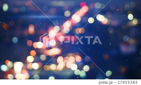 defocused lights of night city 17455383
