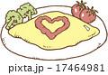 オムレツ 17464981