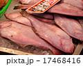 市場 鮮魚店のカレイ 17468416
