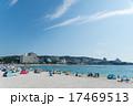 海水浴場 白良浜 海水浴客の写真 17469513