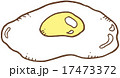 目玉焼き 卵料理 ベクターのイラスト 17473372
