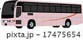 高速バス・観光バス(桜色) 17475654