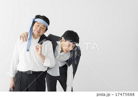 2人の酔っ払いの写真素材 [17475688] - PIXTA