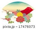 扇 ベクター 花のイラスト 17476073