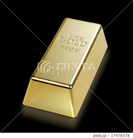 金塊/1000gのゴールドバー 17476378
