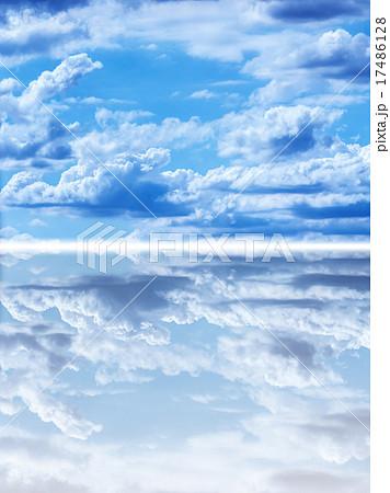 神秘的な空のイラスト素材 17486128 Pixta