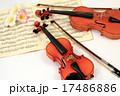 ヴァイオリン・バイオリン・弦楽器・写真素材 17486886