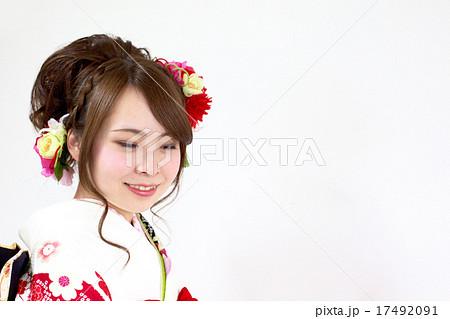 着物姿の女性 17492091