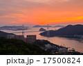 長崎の夕陽 17500824