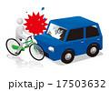 衝突 ベクター 自転車のイラスト 17503632