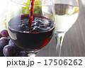 赤ワインと白ワイン イメージ 17506262