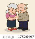 老人 シニア 年上のイラスト 17526497
