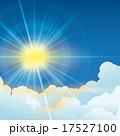 光線 照明弾 フレアのイラスト 17527100