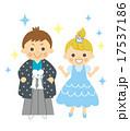 袴 七五三 ドレスのイラスト 17537186