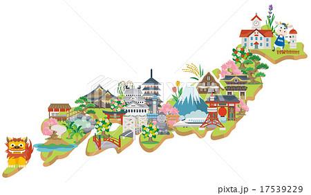 日本 観光名所 17539229