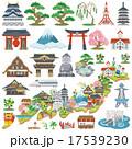 日本 観光名所 アイコン 17539230