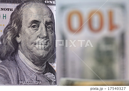 Money background of dollars in cash pileの写真素材 [17540327] - PIXTA