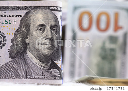 Money background of dollars in cash pileの写真素材 [17541731] - PIXTA