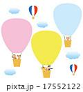 気球 家族 熱気球のイラスト 17552122