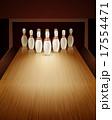 ピン スキットルズ ボールのイラスト 17554471