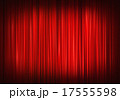 Red stage curtain 17555598