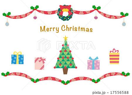 素材-クリスマスカード1 17556588
