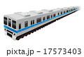 電車イラスト 17573403