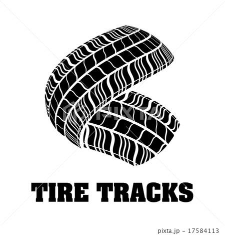 Tires design.のイラスト素材 [17584113] - PIXTA