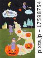 ハロウィンの魔法を 17598754