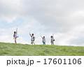 小学生 草原 子供の写真 17601106