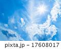 晩夏 太陽 雲の写真 17608017