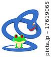ヘビに睨まれたカエル 17619065