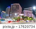 東京・銀座の夜景 17620734