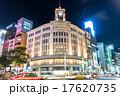東京・銀座の夜景 17620735