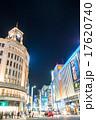 銀座 ライトアップ 夜の写真 17620740