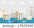 洪水 ベクター 雨のイラスト 17623040