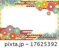 菊はがきレッド 17625392