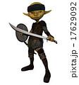 ゴブリン 兵士 戦士のイラスト 17629092
